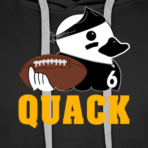 Duck #6 - Men's Premium Hoodie