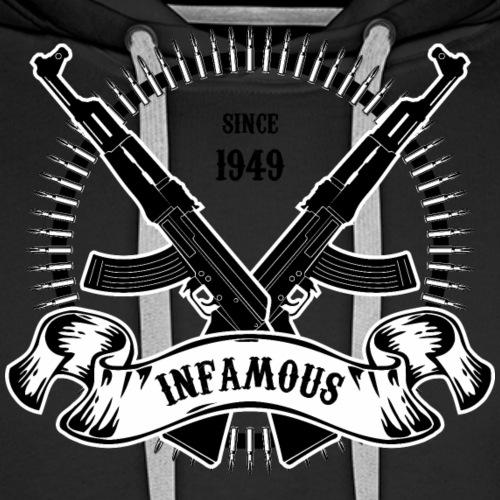 Infamous AK-47 - Men's Premium Hoodie