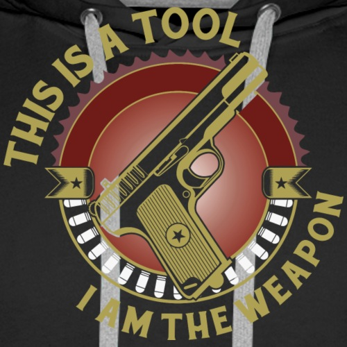 I am the Weapon - Men's Premium Hoodie