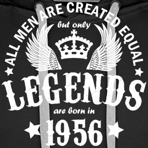 Legends are Born in 1956 - Men's Premium Hoodie