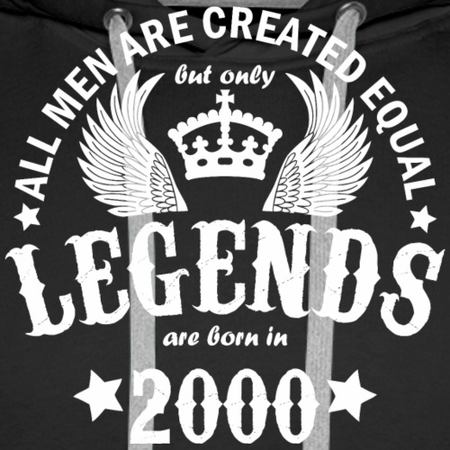 Legends are Born in 2000 - Men's Premium Hoodie