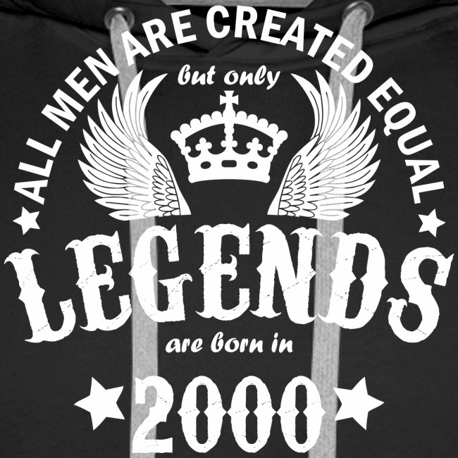 Legends are Born in 2000