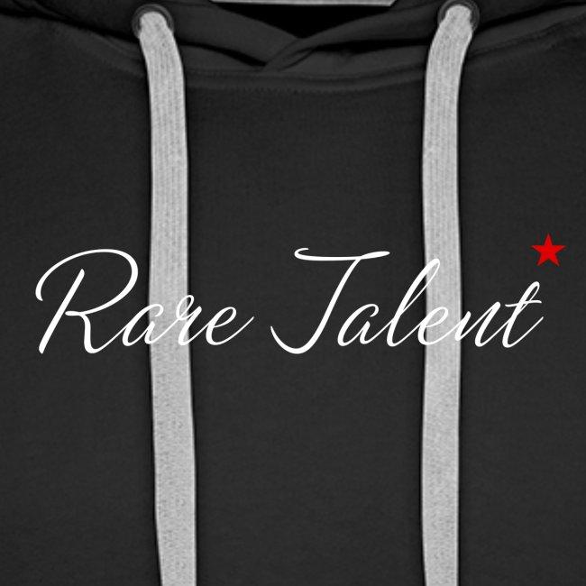 Rare Talent White Text
