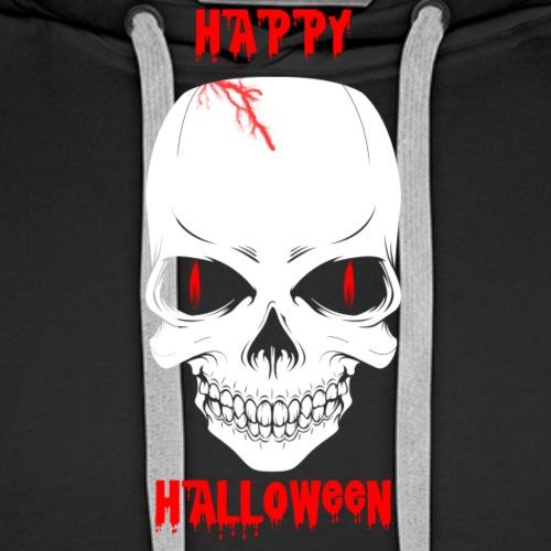 Halloween Skull - Men's Premium Hoodie
