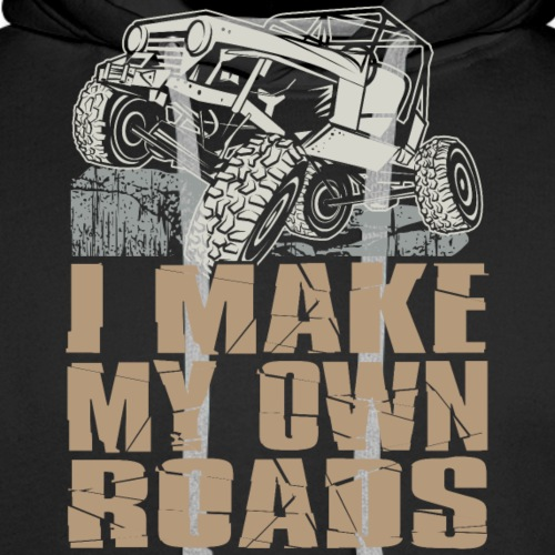 Jeep Make My Own Roads - Men's Premium Hoodie