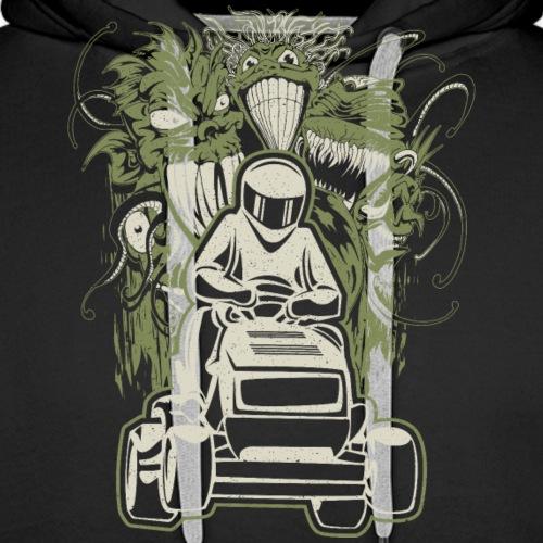 Lawn Mower Demons - Men's Premium Hoodie