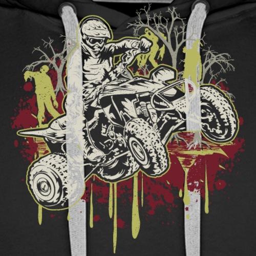 ATV Halloween Zombies - Men's Premium Hoodie