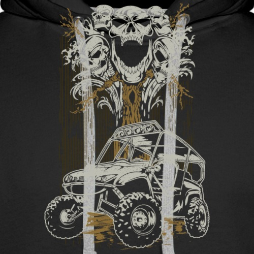UTV Skull Tree - Men's Premium Hoodie