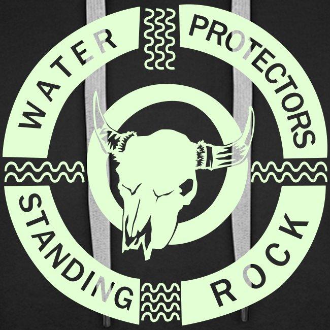 water protector standing