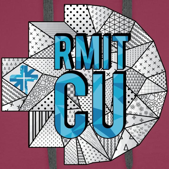 RMITCU Hoodie Logo Blue