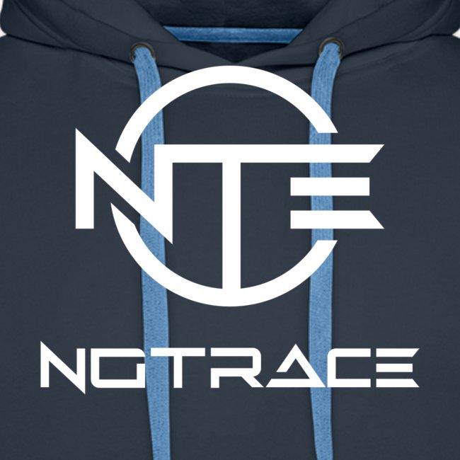 NoTrace WHITE Logo