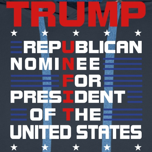 Trump Unfit For President - Men's Premium Hoodie