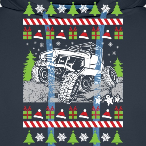 Ugly Christmas Jeeper - Men's Premium Hoodie