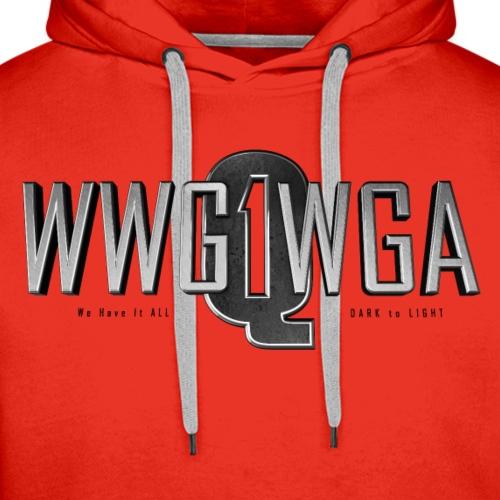 Q1 Steel WWG1WGA - Men's Premium Hoodie
