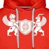 Iran lion & griffin - Men's Premium Hoodie