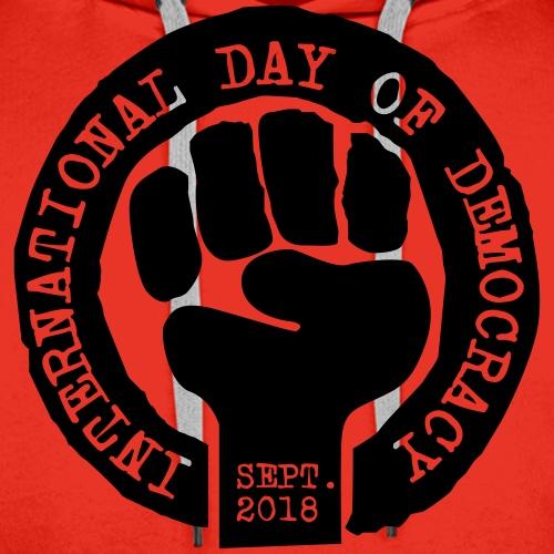 DAY OF DEMOCRACY 2018 - Men's Premium Hoodie