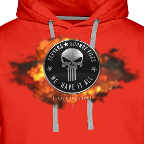 Punisher Boom - Enjoy the Show Q - Men's Premium Hoodie