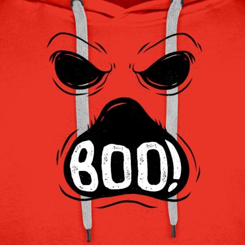 Halloween ghost boo-ing - Men's Premium Hoodie