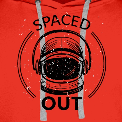 Spaced out Astronaut tshirt - Men's Premium Hoodie