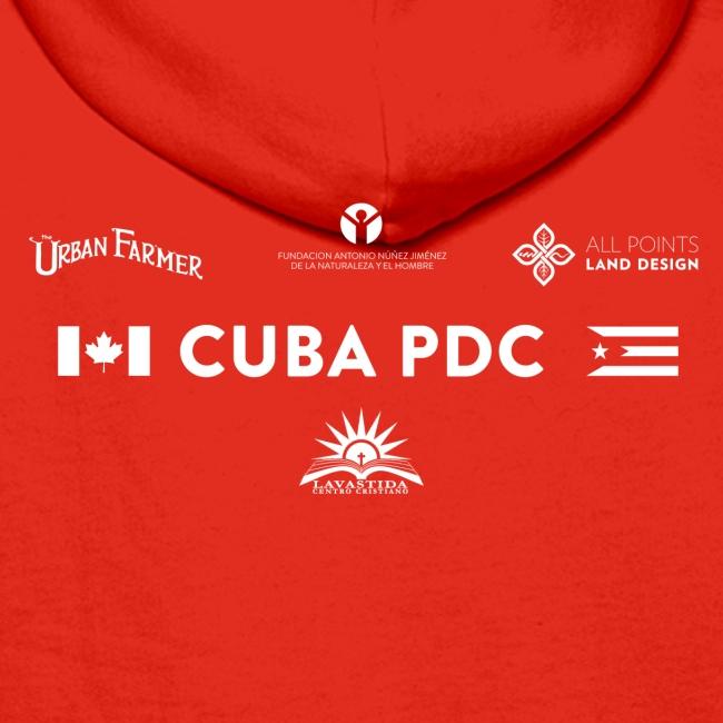 CUBA PDC Women's Organic Tshirt BLACK