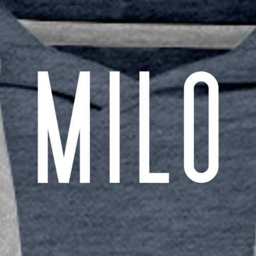 milo logo - Men's Premium Hoodie