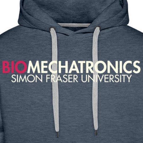 Biomechatronics Front - Men's Premium Hoodie