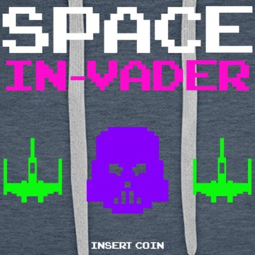 Space InVader - Men's Premium Hoodie