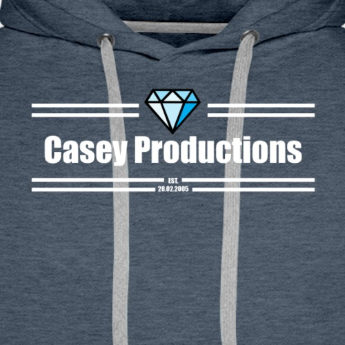 White Casey Productions Design - Men's Premium Hoodie