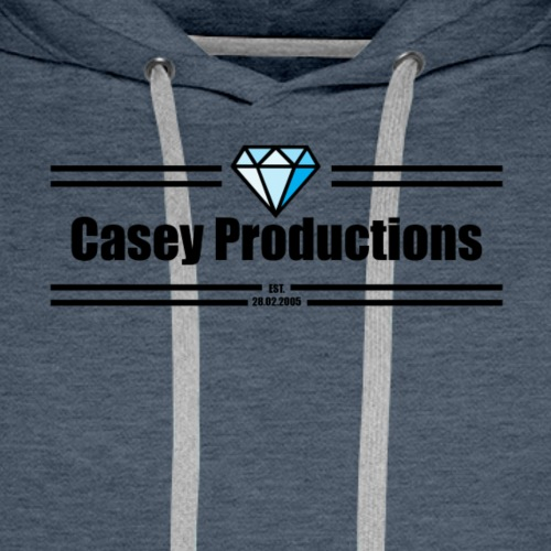 Black Casey Productions Design - Men's Premium Hoodie