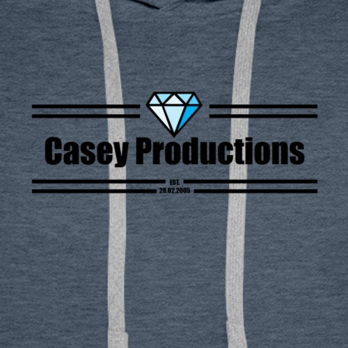 Black Casey Productions Design - Men's Premium Hoodie