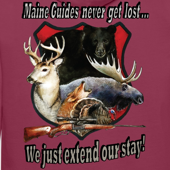 Maine Guides never get lost