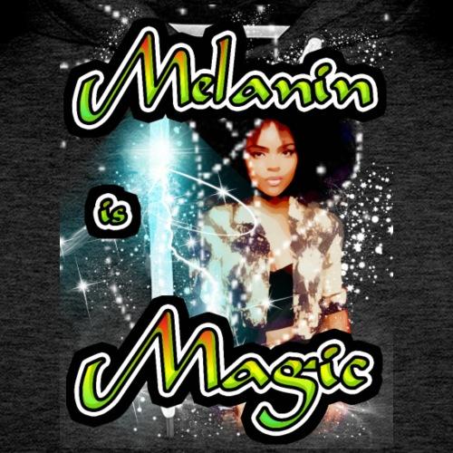 melanin is magic - Men's Premium Hoodie