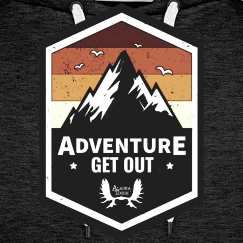Adventure Get Outside - Men's Premium Hoodie