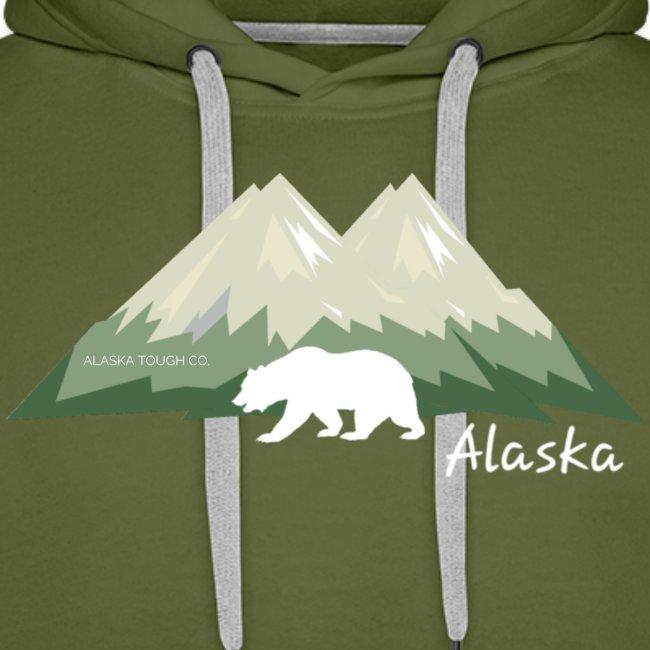 Alaskan Mountain and Bear