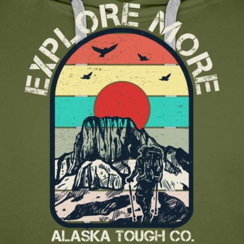 Explore More Hike - Men's Premium Hoodie