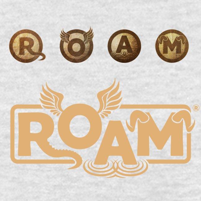 ROAM letters sepia