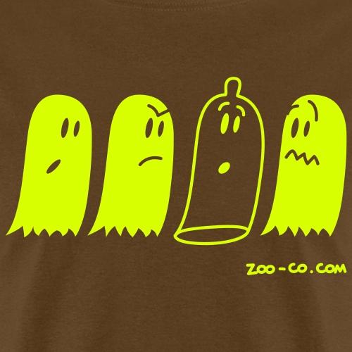 Latex Ghost - Men's T-Shirt
