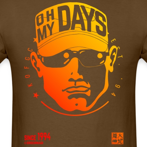 oh my days - Men's T-Shirt