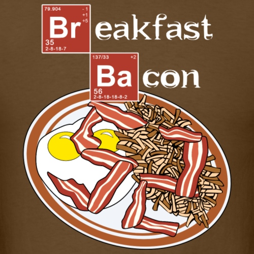 birthday bacon v2 - Men's T-Shirt