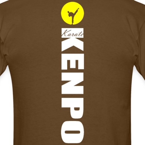 vertical kenpo with sun - Men's T-Shirt