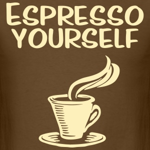Espresso yourself - Men's T-Shirt