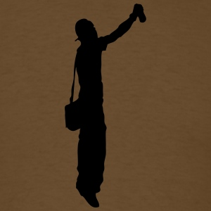 Man body Silhouette vector design - Men's T-Shirt