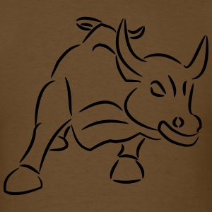 Bull Ride the Bull - Men's T-Shirt