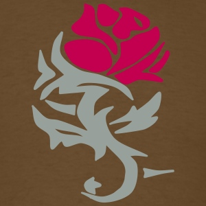 Rose Design - Men's T-Shirt