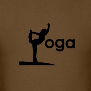 yoga - Men's T-Shirt