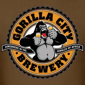 Gorilla City Brewery - Men's T-Shirt