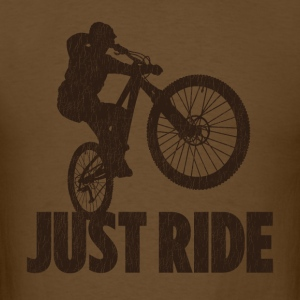 Just Ride - Men's T-Shirt