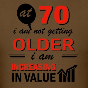 Funny 70 year old gifts - Men's T-Shirt