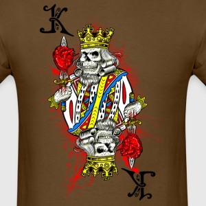 King of Dead Hearts - Men's T-Shirt