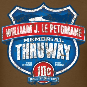 William J LePetomane Memorial Thruway - Men's T-Shirt